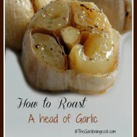 How to roast a head of garlic. You won't believe how sweet it becomes.