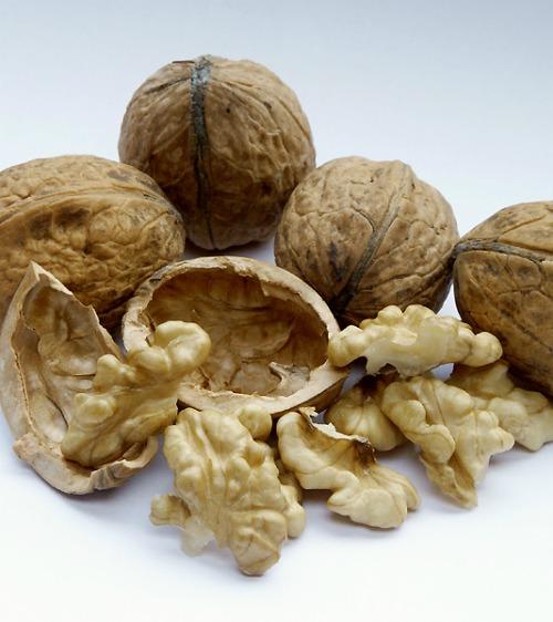 chop walnuts with a potato masher