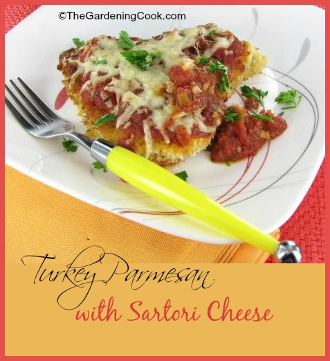 Turkey Parmesan with Sartori Cheese - made the healthy way!