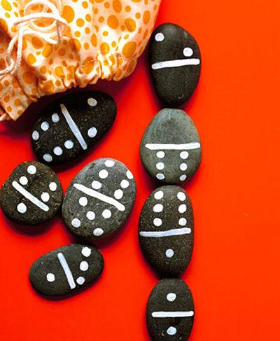 DIY Rock Domino Game