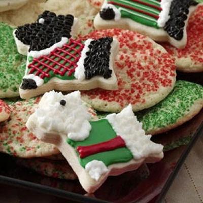 Adorable Scottie Dog Cookies