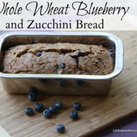 Whole Wheat Blueberry and Zucchini Recipe: