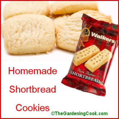 Basic Scottish Shortbread cookies