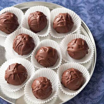 Chocolate Chip-Cookie Dough Truffles