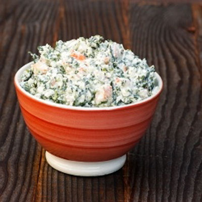 Skinny Shrimp & Feta Spinach Dip Recipe