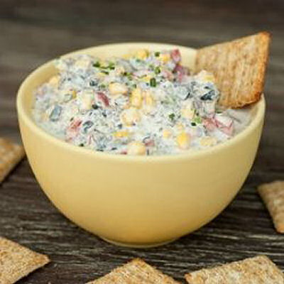 Poolside vegetable dip