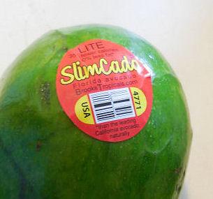 Slimcado label