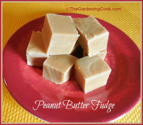 Super easy peanut butter fudge