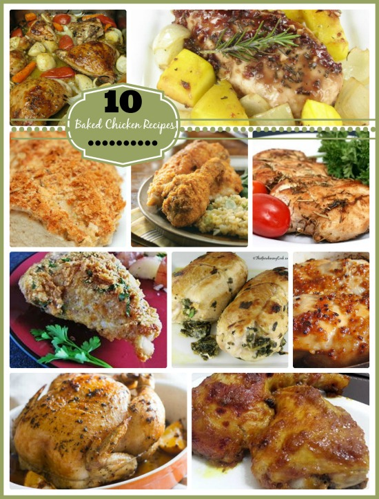 10 Baked chicken Recipes