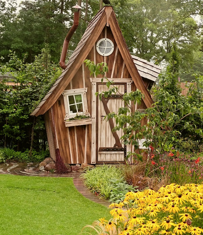 Crooked Garden Shed