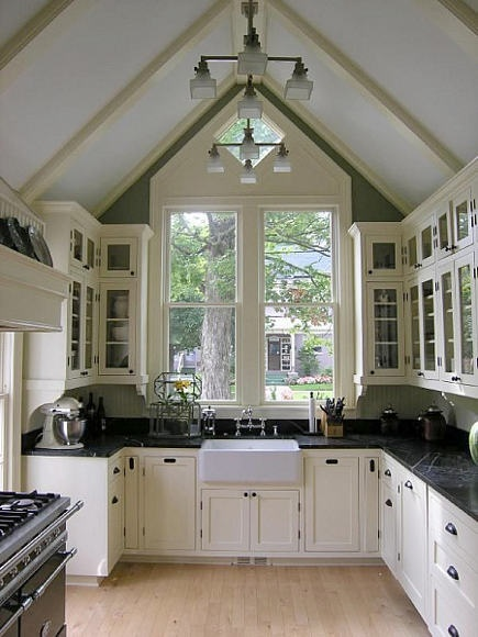 Victorian style cottage kitchen