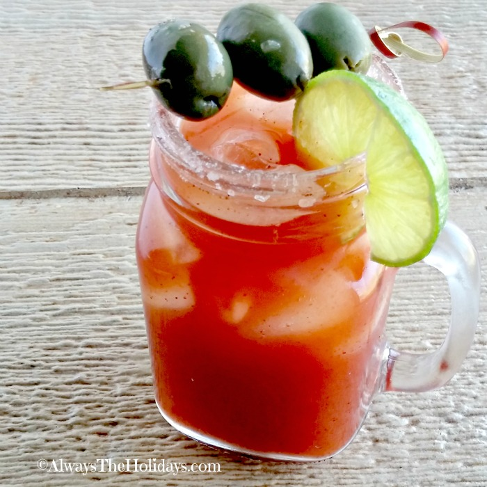 MIchelada cocktail is perfect for Cinco de Mayo