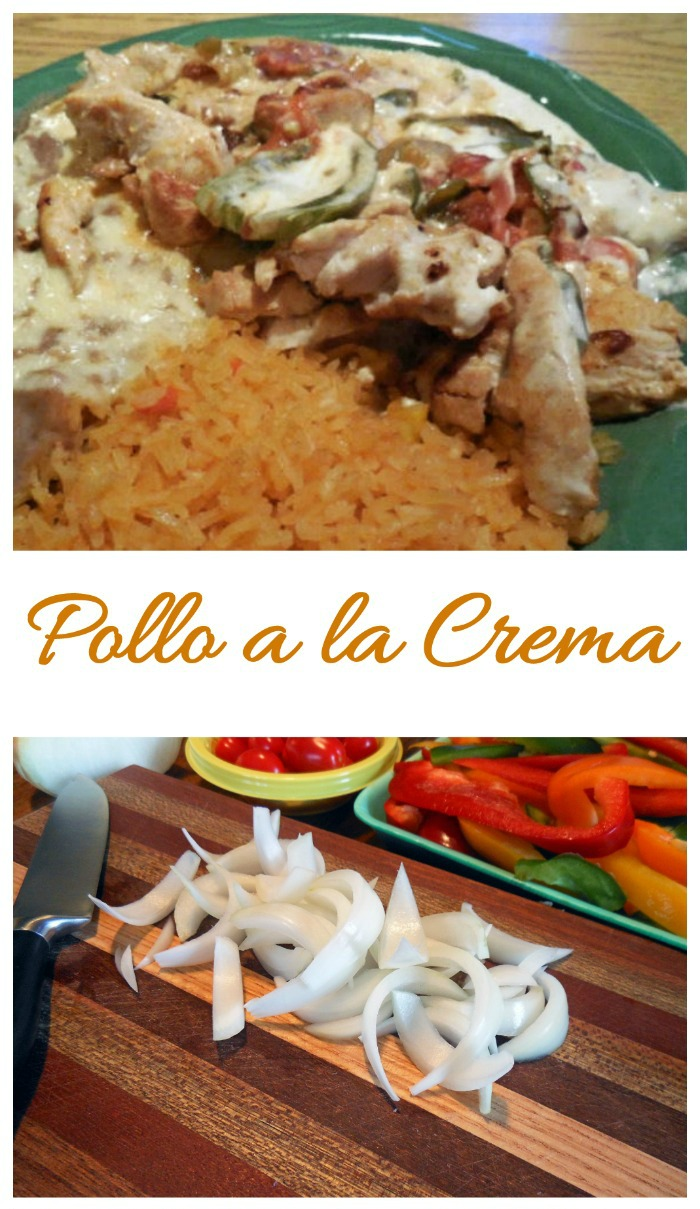This recipe for pollo a la crema is your at-home version of the popular Mexican favorite.