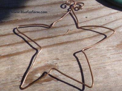 Copper Wire Stars