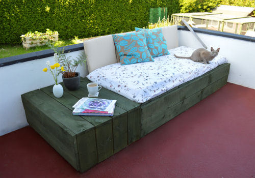 Patio Day Bed.