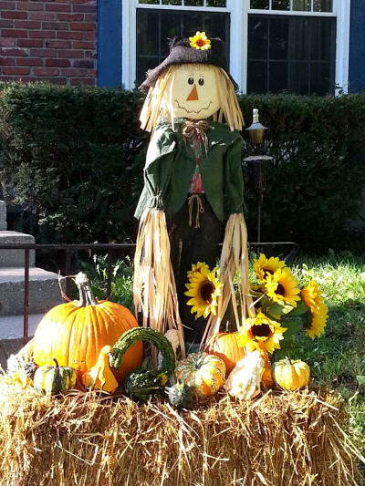 Scarecrow Fall arrangement.