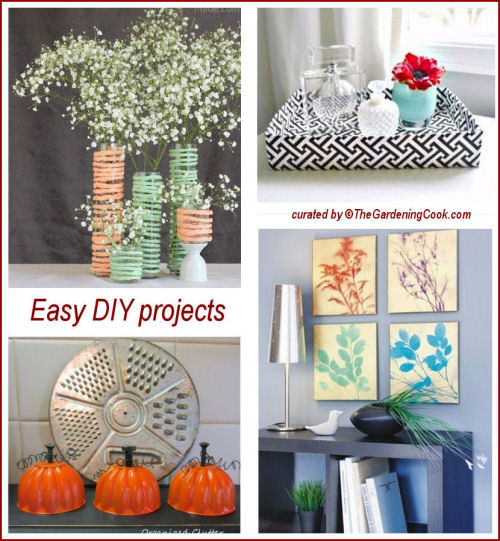 easy diy craft projects to brighten up your home the gardening cook