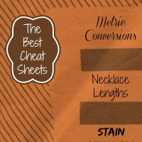 Round up of the best household cheat sheets.