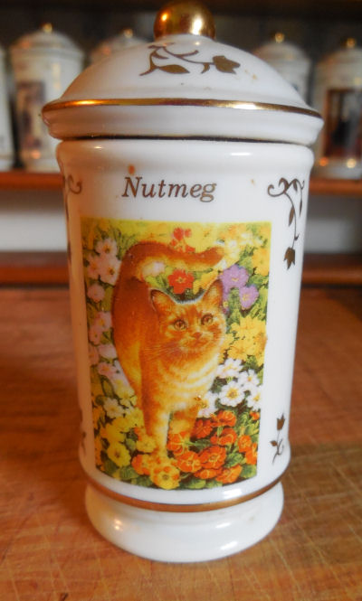 Nutmeg Spice jar