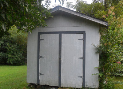 Bare Garden Shed needs some TLC