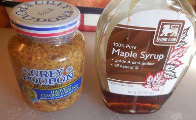 marinade ingredients.