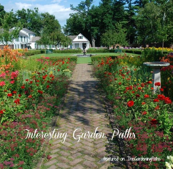 Interesting Garden Pathways