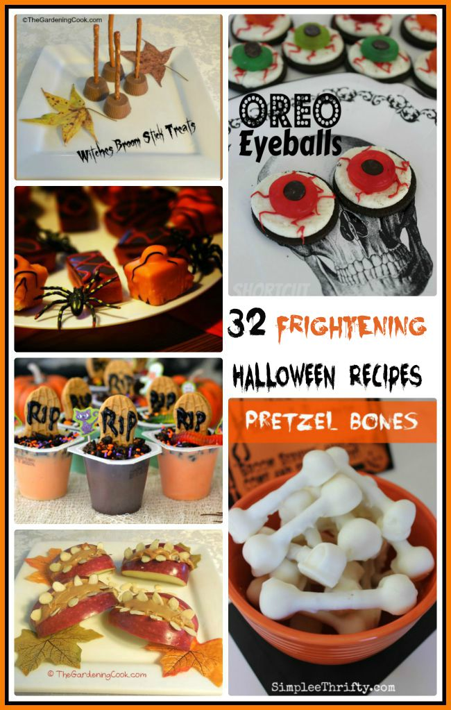 These 32 Spooky Halloween recipes will make your party a treat this year.