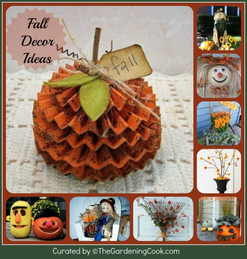 Round up of Fall Decorating Ideas.