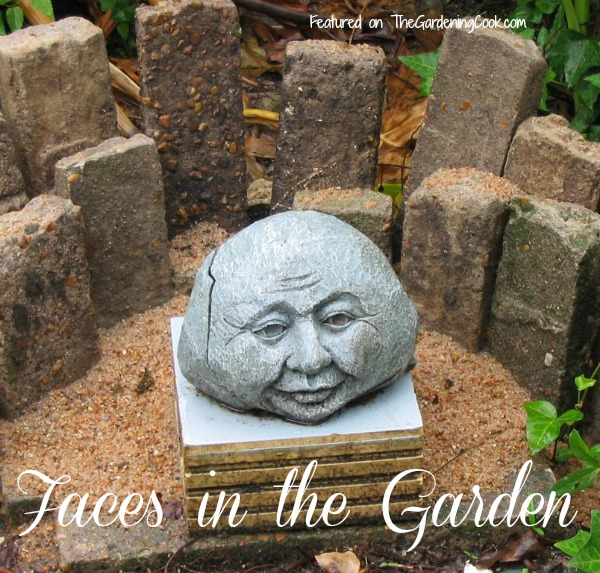 Garden Faces Add A Touch Of Whimsy To Your Outdoor Setting.