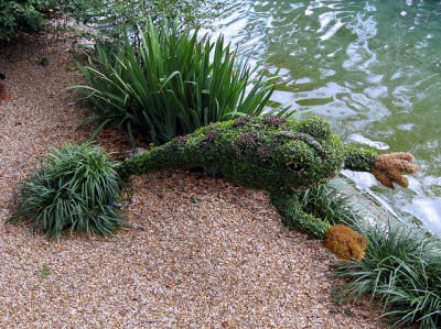 topiary frog