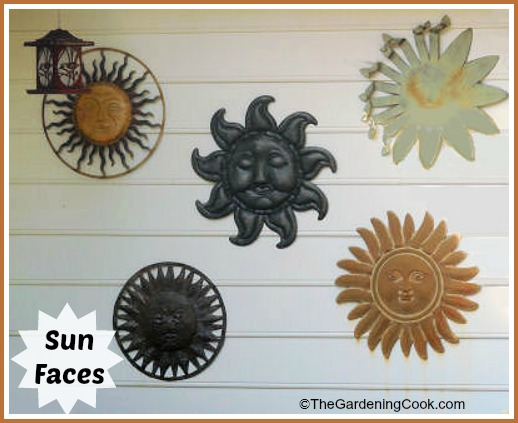 Sun Faces For Your Garden