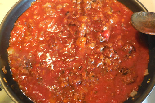 meaty marinara sauce