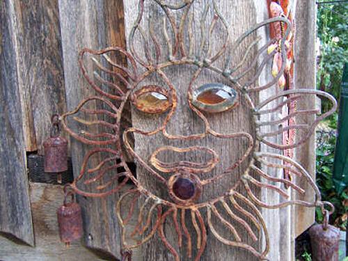 Sun Faces For Your Garden