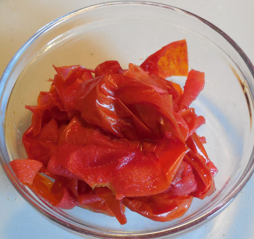 tomato skins