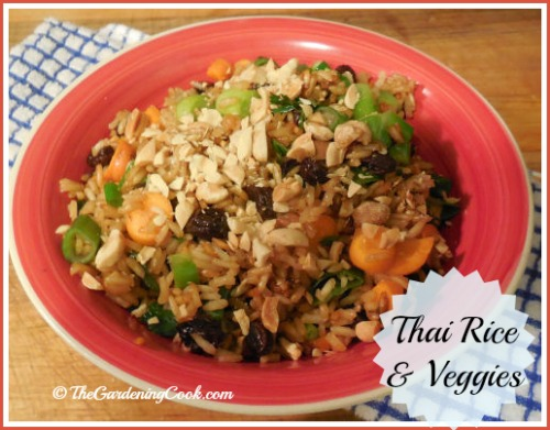 Thai Rice and Vegetables