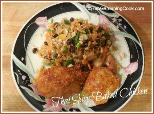 Thai Spicy Baked Chicken