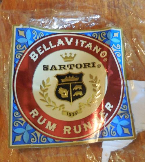 Sartori rum runner cheese