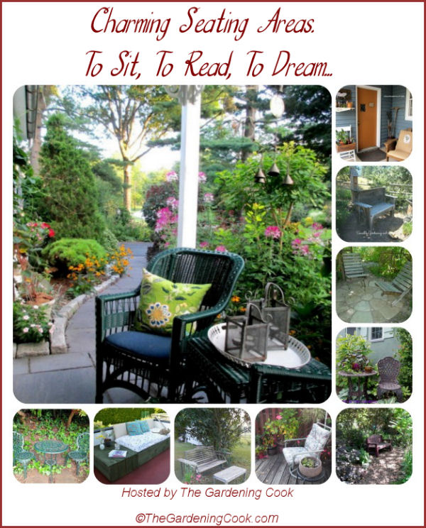 10 charming garden seating areas to sit, to read, to dream