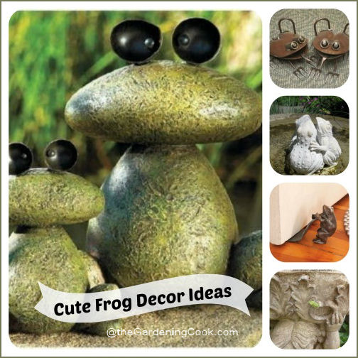 More cute frog decor ideas