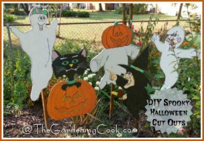DIY Spooky Halloween Cut outs