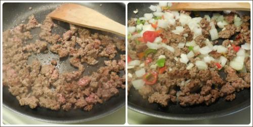 beef and veggies mixture
