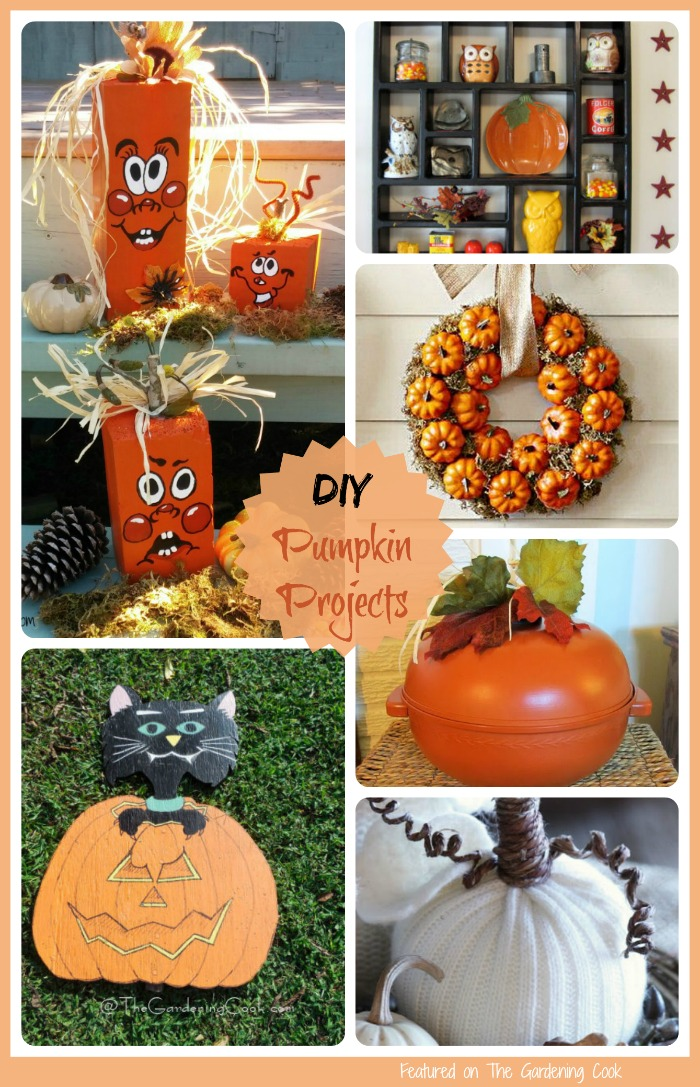 Need some inspiration for fall decor? These DIY pumpkin projects will have you crafting up a storm in no time at all.