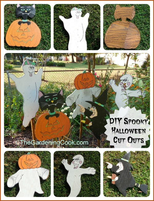 DIY Spooky Wooden Cut Out Yard Decorations