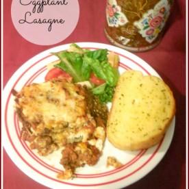 Eggplant Lasagne - healthier version of the traditional favorite Italian dish.