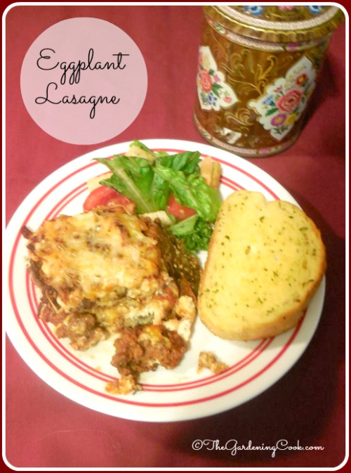 Eggplant Lasagne - healthier version of the traditional favorite Italian dish.