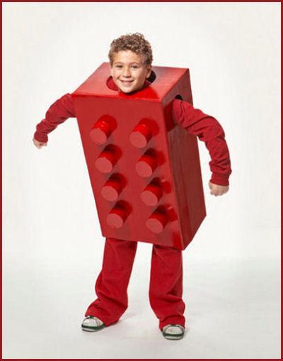 boys Lego Halloween costume.  sc 1 st  The Gardening Cook & Diy Halloween Costumes for Kids - The Gardening Cook