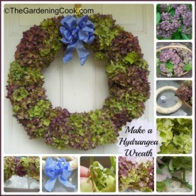 Make your own Hydrangea Wreath - Step by Step photo tutorial