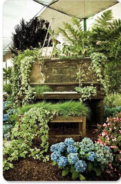 Piano Garden Planter