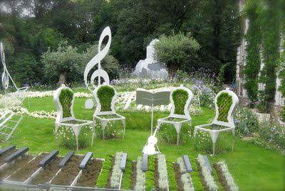 Vienna's City Gardens music display