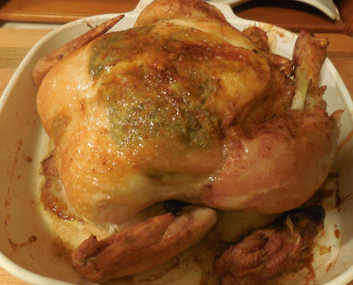 Herb Infused Roast Chicken